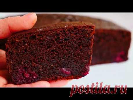 Очень Простой Шоколадный ПИРОГ на Раз, Два, Три   Simple Pie recipe