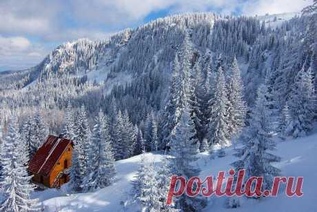 Дом на горе Яхорина, Сербия