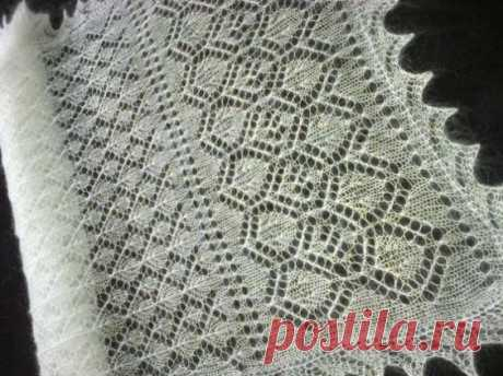 Pinterest • оренбургский платок схемы
