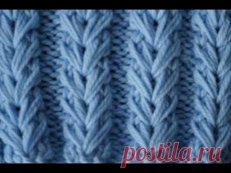 """Узор """"Колоски"""" / Knitting pattern """"Spikelets"""""""