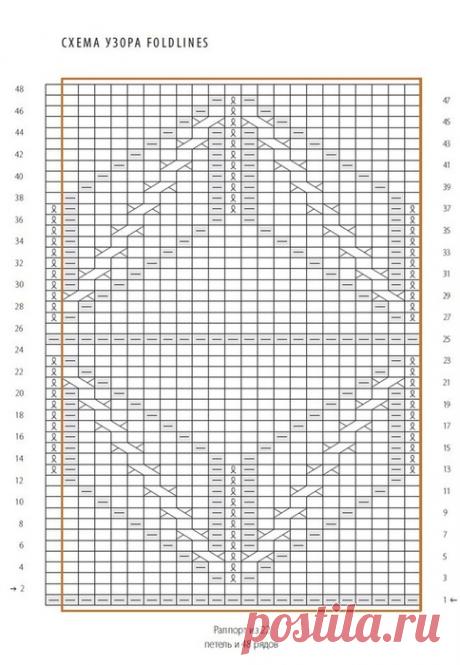 Пуловер с геометрическим рисунком спицами. Стильный пуловер спицами 2020