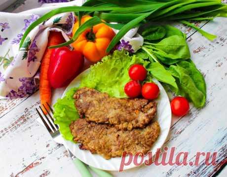 Отбивные из говяжьей печени рецепт с фото пошагово и видео - 1000.menu
