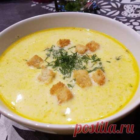 Сырный суп по‑французски с курицуй | OK.RU