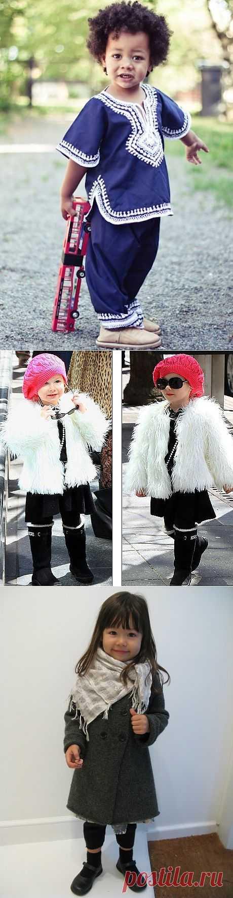 Baby street style (подборка) / Street Style / Модный сайт о стильной переделке одежды и интерьера