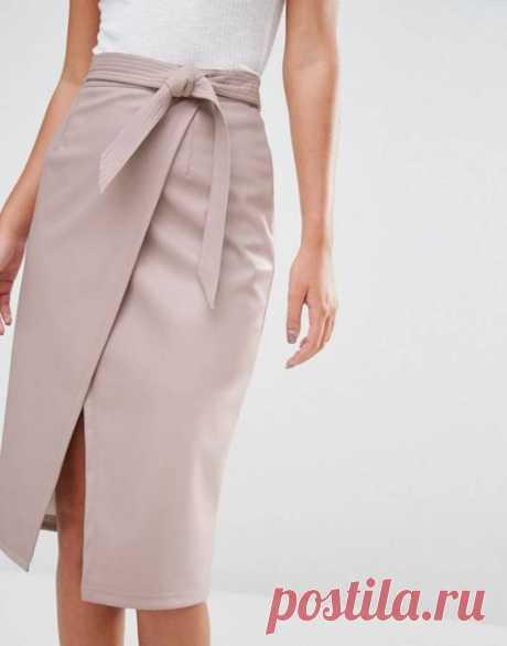 Модная одежда своими руками: как сшить юбку с запахом (простая выкройка)