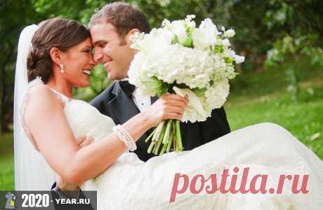 Благоприятные дни для свадьбы в 2020 году: церковный, лунный календарь, приметы на свадьбу Когда лучше играть свадьбу в 2020 году. Календарь благоприятных дат. Действенные приметы на свадьбу.