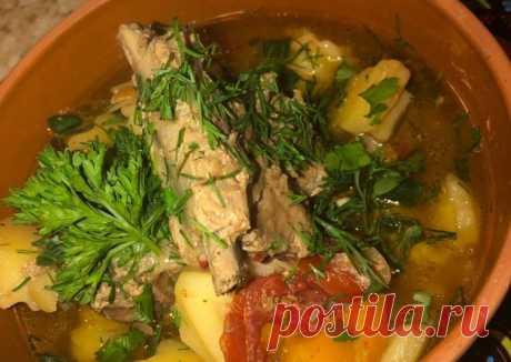 Рёбрышки в горшочках с картофелем - пошаговый рецепт с фото. Автор рецепта Food_from_Ksu🏃🏼♂️ 🏃♂️ . - Cookpad