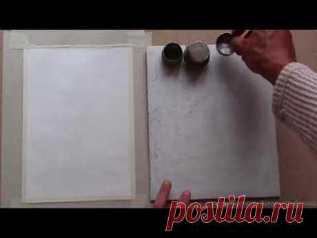 2 модуль Организация пространства для работы масляной живописью