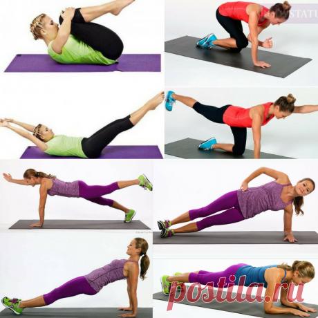 Лучший комплекс упражнений для выполнения утренней гимнастики