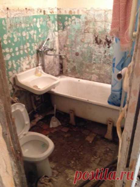 Миссия выполнима: маленькая ванная в хрущевке - уместить все!