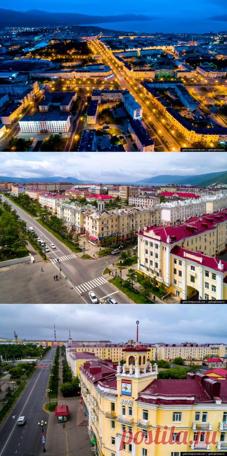 Магадан с высоты: суровый город у моря — НеПутевые заметки