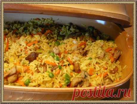 Блюда из риса, простые и вкусные