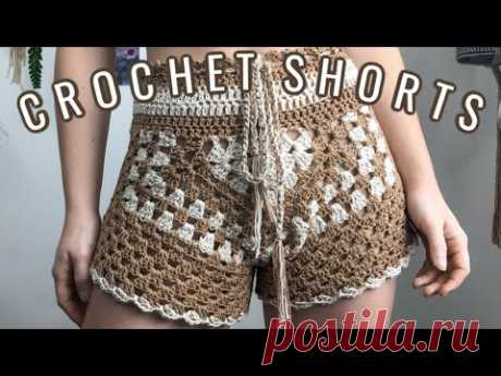 How to Crochet a Shorts | High-Waisted Shorts | Crochet Tutorial
