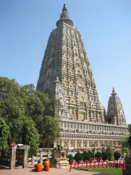 Храм Махабодхи — знаменитый буддийский храм в Бодх-Гая (Индия)