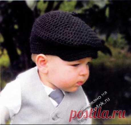 Вязаные шапки крючком. 101 схема шапок. Модные мужские и женские шапки. - страница 3