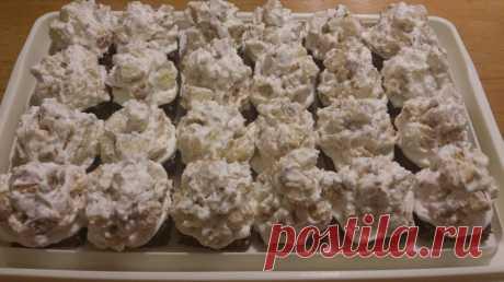 Побалуй близких;)) Мини-пирожные «Айсберг» — Готовим дома
