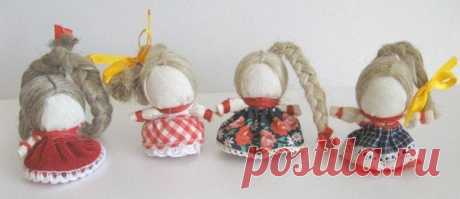 Делаем куколку на счастье