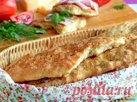 Лепёшки вместо хлеба, на кефире, без дрожжей в духовке