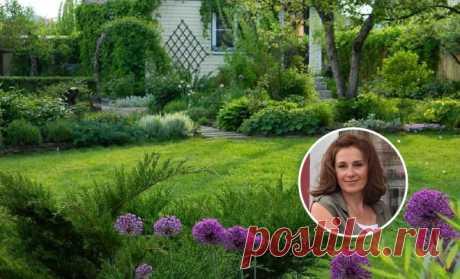 Как превратить дебри на болоте в сад с обложки – история Оксаны Броховецкой
