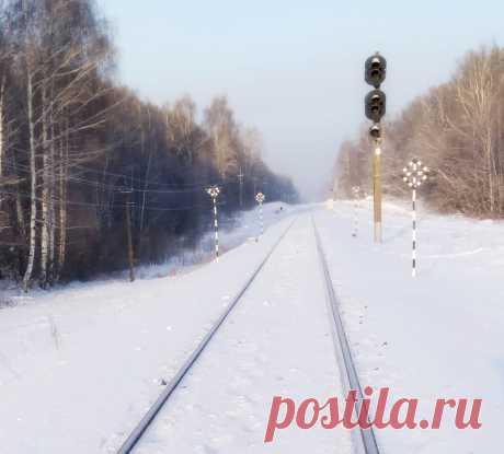 Однопутная железная дорога. Зеленодольск, остановочная платформа Гари