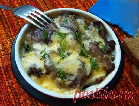 Запеканка из баклажанов и грибов — необычная и вкусная