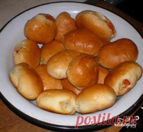 Пирожки с тыквой в духовке - пошаговый кулинарный рецепт с фото на Повар.ру