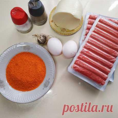 Домашние рецепты. Нежнейшие котлеты из крабовых палочек с сыром