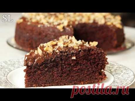 Буквально Тает Во Рту! Сочный Без Пропитки! Быстрый Шоколадный Торт за 10 Минут + Время для Выпечки