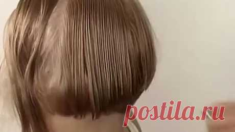 Как стричь боб каре масер класс. Bob haircut master class