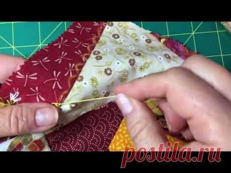 Декоративные швы в украшении крейзи квилта(часть 1)