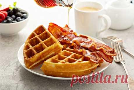Венские вафли: история, классический и соленый рецепты - Beauty HUB  завтрак