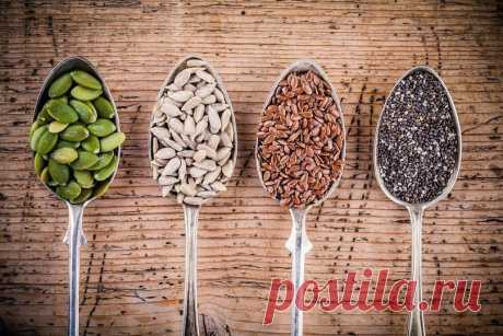 Top-10 seeds and sunflower seeds which have to be in a diet They different in the size, color and a form, but it does not reduce advantage of each of them at all. Top-10 seeds and sunflower seeds which need to be included in the menu.