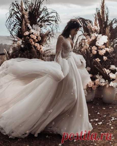 Пышное платье может быть таким легким и воздушным 😍