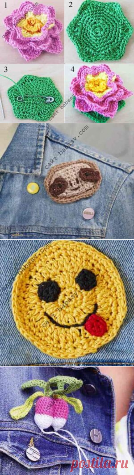Брошь для джинсовой куртки| Сундучок-хомячок