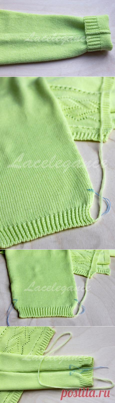Как аккуратно сшивать вязаные изделия. Мастер-класс