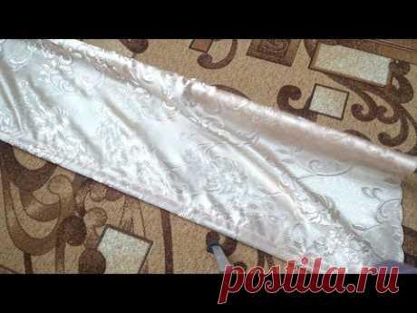 Как сшить рулонную штору легко и дёшево