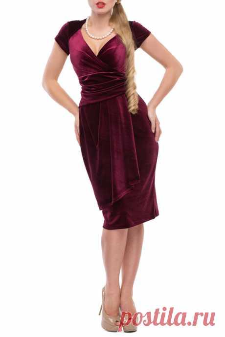 Купить Платье Петербургский Швейный Дом 798-4 БОРДО со  в интернет-магазине kupivip.ru - распродажа
