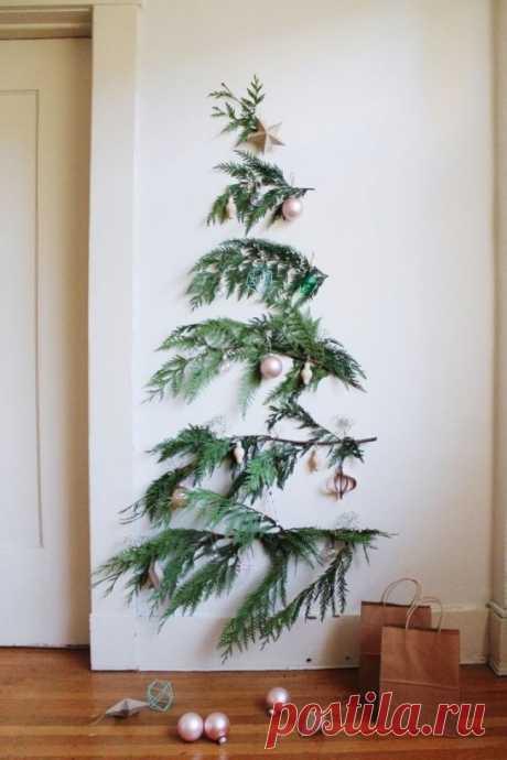30 alternativas al árbol de Año Nuevo, que le dejarán poco probable indiferente