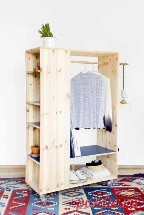 Мини-гардеробные в доме: 10 креативных идей - Сам себе мастер - медиаплатформа МирТесен