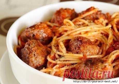 Блаженство из спагетти!