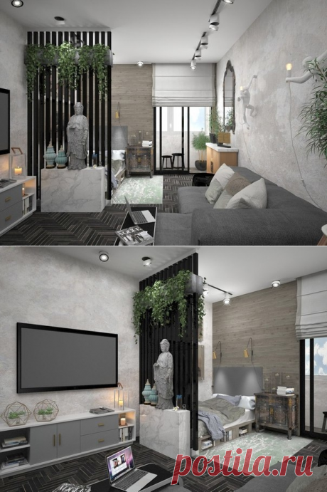Apartment of 29,5 sq.m - Interior design | Ideas of your house | Lodgers