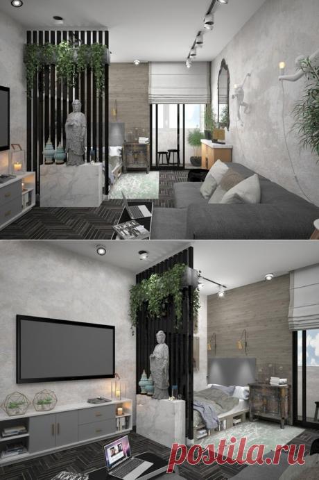 Квартира 29,5 кв.м. - Дизайн интерьеров | Идеи вашего дома | Lodgers
