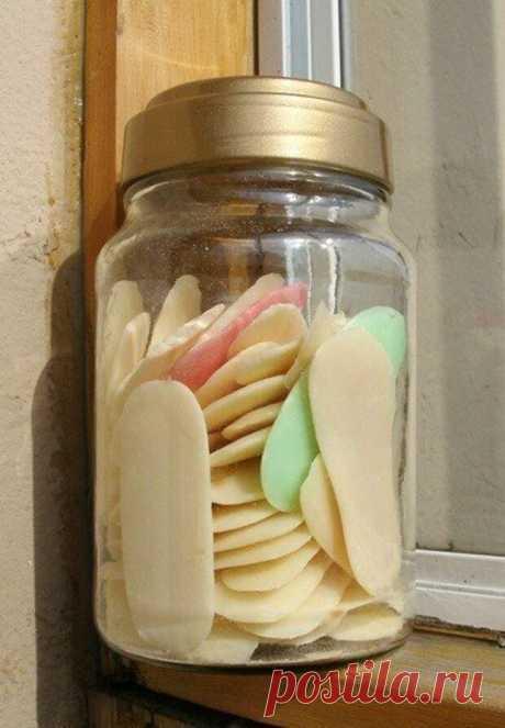 Из обмылков можно сделать жидкое мыло с вашим любимым ароматом. | Хитрости Жизни