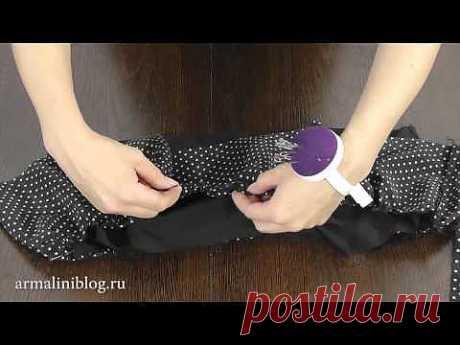 ▶ Как сшить юбку без выкройки - YouTube