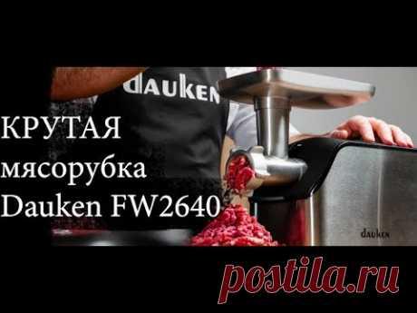 Крутая мясорубка Dauken FW2640 за 14000 руб - распаковка посылки с Озон, отзыв