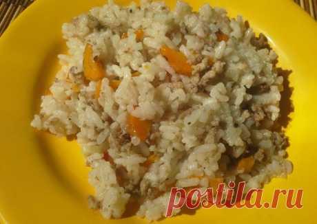 Рис с овощами и фаршем - пошаговый рецепт с фото. Автор рецепта Юрий Шуляк🏃♂️ . - Cookpad