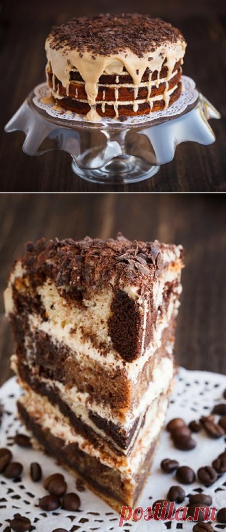 Мраморный торт - в поисках ВКУСОВЫХ ощущений......