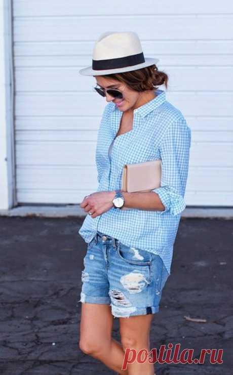 Джинсовые шорты / Логика моды
