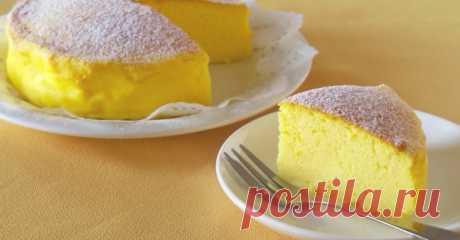 В Японии придумали рецепт торта. Там только 3 ингредиента!