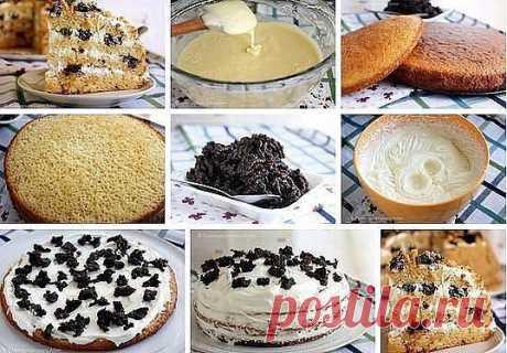 Как приготовить медовик на кефире - рецепт, ингредиенты и фотографии
